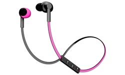 Pom Gear Bluetooth Basik Wireless Headphones - Pink