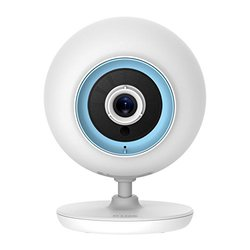 D-Link Wi-Fi Baby Camera -Night Vision, Personalize Audio, 2-Way Talk, Local and Remote Video Baby Monitor App for iPhone and Android (DCS-820L) - DCS-820L