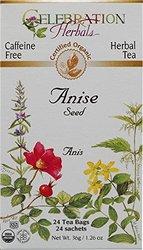 Organic Anise Seed Tea - 24 Tea Bags ( Multi-Pack)