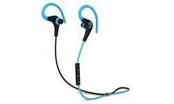 POM Gear P2G-SP1-BLBK Basik Sport Secure Fit Bluetooth Earphones Blue/Black