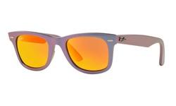 RayBan Unisex Wayfarer Sunglasses - Orange/Purple