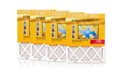 """Purafilter Gold High-Efficiency Air Filters 4PK - Size: 17""""x22""""x1"""""""