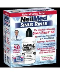 NeilMed Sinus Rinse Premixed - 50 Packets