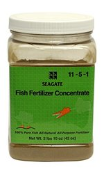 Seagate Products Fish Fertilizer Concentrate Powder, 42 oz jar