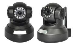 Kingstar IP Camera In-Door WiFi LAN / Wireless Two-Way Audio - Black