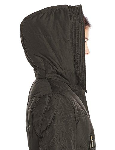 089c6fe4c Kensie Women's Down Coat with Faux Fur Hood - Black - Size: M - Check Back  Soon