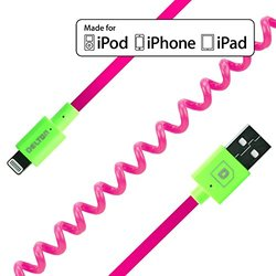 Apple-certified Lighting Sync And Charge Cable: Pink