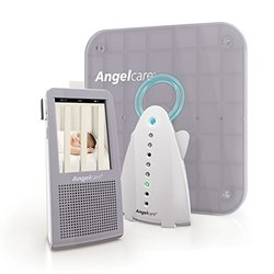 Baby Monitor Angelcare Video Movement and Sound Monitor Gray white