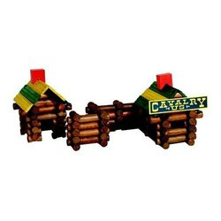 Poof Slinky Frontier Logs Building Set In Canister (160 Pieces)