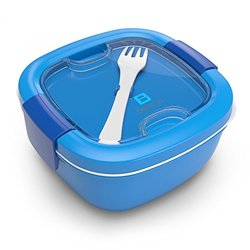 Bentgo Salad (Blue) - Conveniently Take Salads and Other Snacks On-the-go  Eco-Friendly & BPA-Free Lunch Container