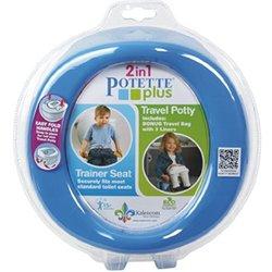 Kalencom Comfortable 2-in-1 Plastic Potette Plus - Blue