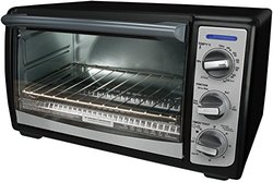 Black & Decker TRO4075B 4-Slice Toaster Oven with Convection