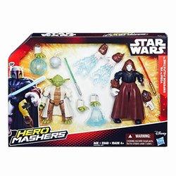 Star Wars III Hero Mashers Yoda vs Emperor Palpatine - 2 Pk