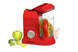 Beaba Babycook Pro- Dishwasher Safe Baby Food Maker - Red