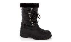 Snow Tec Women's Snow Boots - Frost-2 Black - Size: 10