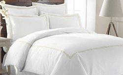 Italian Hotel Collection 600TC Duvet Set - Warm Sand - Size: King