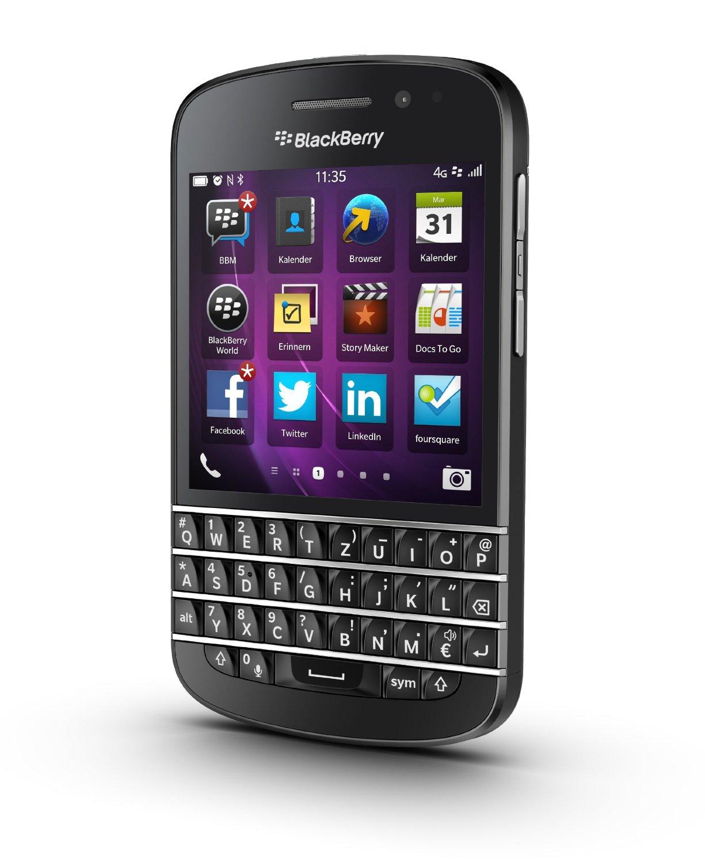 Unlocked Blackberry Q10 16gb Bb 10 Smartphone Black Prd 53409 052 4g Lte