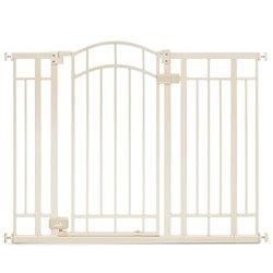 Summer Infant Multi Use Deco Extra Tall Walk-Thru Gate beige