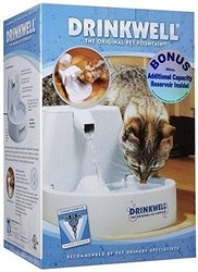 Pet Water Fountain: Original w/Bonus 50 oz Reservoir