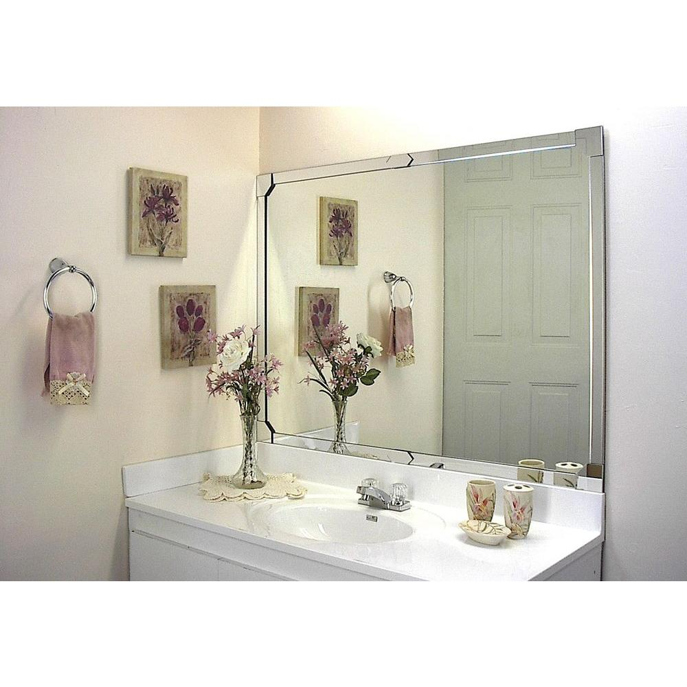 MirrEdge 4-Piece Acrylic Mirror Corner Cover Plates - Check Back ...