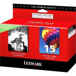Lexmark #14 & #15 Black Color Print Ink 18C2239