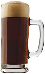 Libbey Craft Brews 22-Ounce Lager Stein Mug Set 4-Piece clear