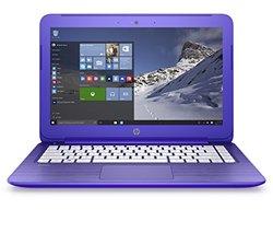 """HP Stream 13.3"""" Laptop 1.60GHz 2GB 32GB Windows 10 - Purple"""