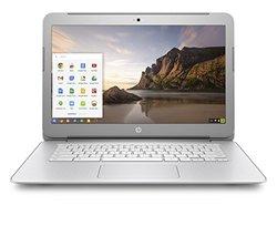 "HP Chromebook 14"" 2.16GHz 2GB 16GB Chrome OS- Silver (14-ak010nr)"