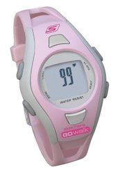 Skechers Women's SK2 GOwalk Classic Heart Rate Monitor, Pink, Medium
