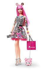 Barbie Tokidoki Barbie Includes Shopping Bag & Pink Cactus