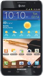 Samsung Galaxy Note 16GB Smartphone for AT&T - Blue (SGH-I717)