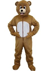 Dress Up America Brown Bear Child Costume - Size: Medium (8-10)