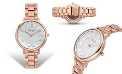 Romilly Gouyen Ladies Watch: 1448a-62627355-rose Gold Band