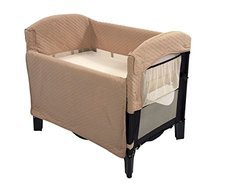 Arm's Reach Concepts Ideal Co-Sleeper Solid without Skirt Toffee black