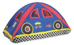 Rad Racer Flame Retardant Bed Tent - Multi - Size: Twin