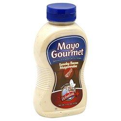 Mayo Gourmet Mayonnaise Smoky Bacon T 11 oz protect 6
