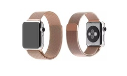 iPM Milanese Mesh with Magnet Closure for Apple Watch - Rose Gold - 38mm