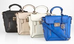 CXL Chartres Messenger Handbag - Cobalt Blue
