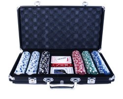 John N. Hansen 300 Chip Poker Game Set 301