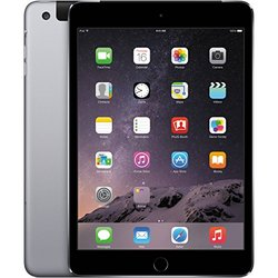 "Apple iPad mini 4 7.9"" Tablet 64GB Wi-Fi + 4G LTE - Space Gray (MK892LL/A)"