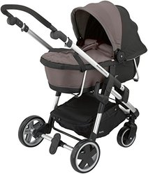 Kiddy Click 'n Move 3 Stylish & Lightweight Stroller Carrycot - Walnut