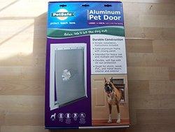 PetSafe Large White Classic Pet Door