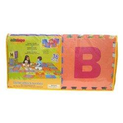 Edushape 6x6ft 36-Piece Edu-Tiles Letters & Numbers