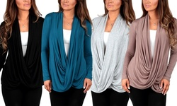 Criss Cross Cardigans Teal Large