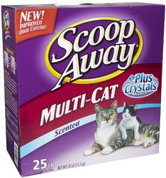 Clorox Petcare 02070 Scoop Away Plus Crystals - 25 Lbs.