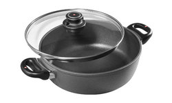 Swiss Diamond Nonstick Braiser - 5.3-Quart (6928c)