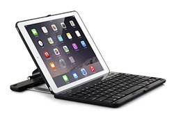 SHARKK Bluetooth Keyboard Case/Stand for iPad Air 2 - Black