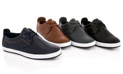 Franco Vanucci Lace-up Men's Sneaker Edward-1: Gray/11.5