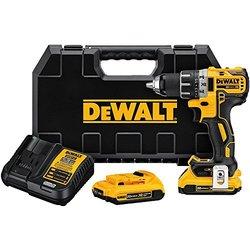 """DeWalt 20V MaxXR Li-Ion 1/2"""" Brushless Compact Drill/Driver Kit (DCD791D2)"""