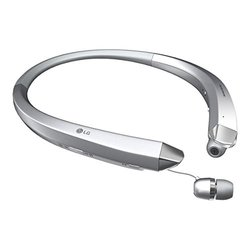 LG Tone Infinim Bluetooth Stereo Headset - Silver - HBS-910